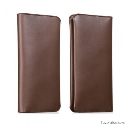 Hoco Portfolio Series Multifunctional Card Case for 6-inch - Brown