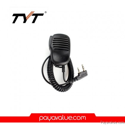 TYT Single PTT Speaker MIC Microphone For Walkie talkie MD-380 MD-390 DM-UVF10 TH-UV9D TH-UV6R