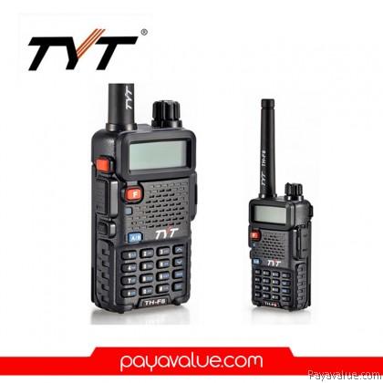 TYT TH-UVF8 7W VHF+UHF 136-174 + 400-480MHz 256CH DTMF FM Radio Dual band Dual Display Dual Standby Walkie Talkie - Black