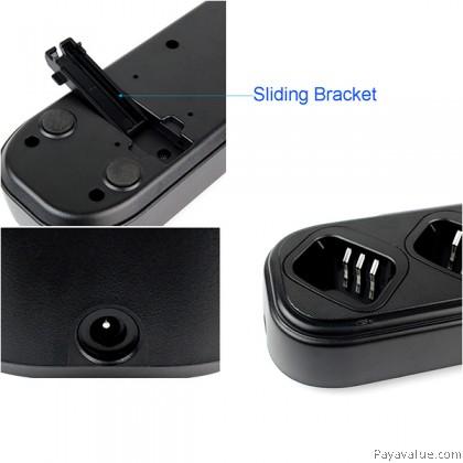 6 Ways Universal Rapid Charger for Baofeng 5R UV-5R UV-5RA UV-5RB UV-5RC 2-Way Radio Walkie Talkie
