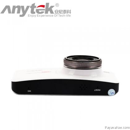 Anytek AT66A NTK96650 170° Wide-Angle 2.7 inch LCD G-Sensor Night Vision Car DVR Camera Video Recorder - White