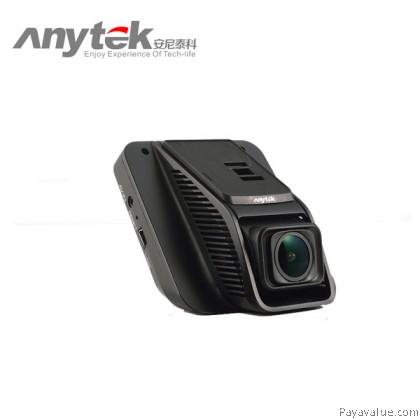 "Anytek A50H Dual Lens Hidden Car Camera 6G Lens Full HD NTK96658 3.0"" 170° Wide-Angle Motion Detection G-SENSOR WDR Car DVR Camera Video Recorder - Black"