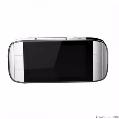 "Anytek A2 Ambarella A7L50 2.7"" LCD FHD 1296P 170° Wide-Angle G-Sensor Night Vision WDR Car DVR Camera Video Recorder - White"