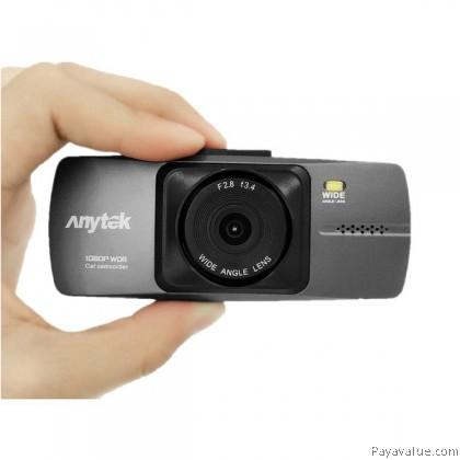 Anytek A88 2.7 Inch Full HD 1080P NTK96223 140° Wide-Angle G-SENSOR Night Vision Car DVR Camera Video Recorder - Black