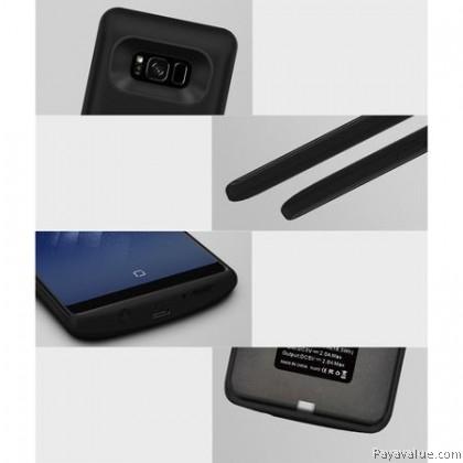 JLW External Ultra Slim Battery Charger Powercase for Samsung Galaxy S8 5500mAh / Samsung Galaxy S8 Plus 6500mAh