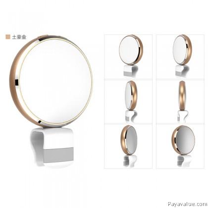 WONEW Rainbow Colours Mode Brightness Adjustment Selfie Flash Light - Gold
