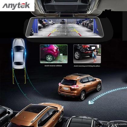 Anytek T90 Dual Lens HD F1080P 160° HD B720P 120° G-Sensor l ADAS l 24H Record l H.264 Car Recorder  DVR