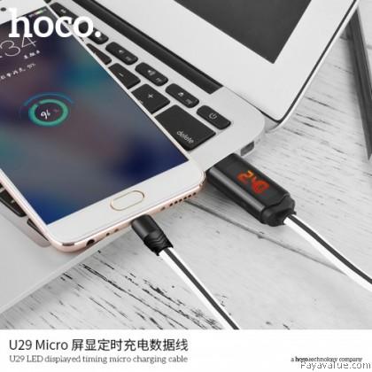Tcom Hoco U29 Micro LED displayed timing Lightning Charging Cable