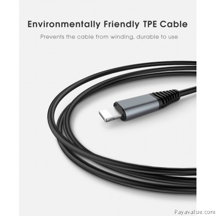 Tcom Hoco U22 (Lightning Cable) Lightweight Portable 2000mAh Power Bank External Battery Charger With 1.2M TPE 8 Pin Data Charging Cable For Iphone