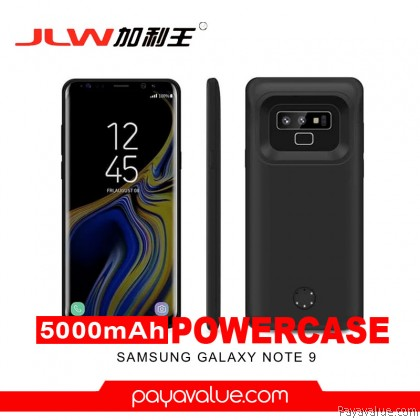 JLW Smart Battery Case For Samsung Note 9 Capacity 5000mah Powercase