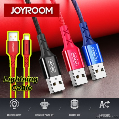 Joyroom S-M364 Lighting USB Cable Charging Intelligent Power For Apple IPhone 6 7 8 Plus X / Xs - 1m / 2m