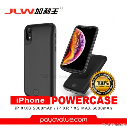 JLW Smart Battery Case For iPhone XS / XS Max / XR Power Case 5000mAh/6000mAh Powerbank