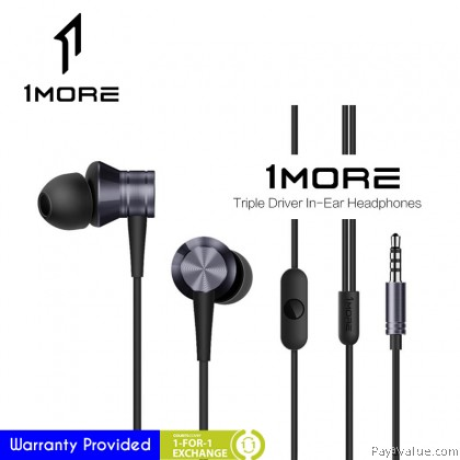 1 MORE E1009 Piston Fit In-Ear Headphones Earbud Headset with Microphone iOS and Android