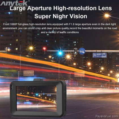 Anytek A78 Night Vision 1080P high Definition Intelligent HD Car DVR Dash Cam