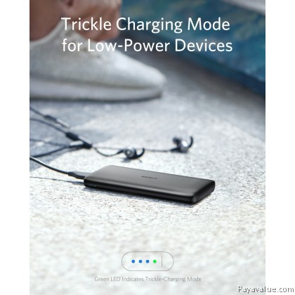 Anker PowerCore Lite 10000mAh Power Bank Travel Safety For All the Phone & Tablet MFI Huawei IPhone Samsung Powerbank