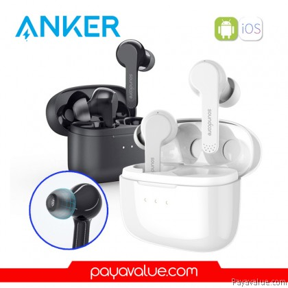 Anker A3902 Soundcore Liberty Air - True Wireless Earphones, 20hrs Playtime, Touch Control, Bluetooth 5.0 Earbuds for iPhone Huawei Samsung