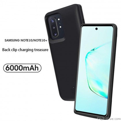 JLW Samsung Note 10 / Note 10 Plus Powercase Protective Case Battery Case 6000mAh Phone Cover