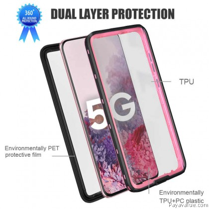 Huawei P40 P40 Pro Waterproof Case 360 Protection Cover Casing Motor Driver Protective Case