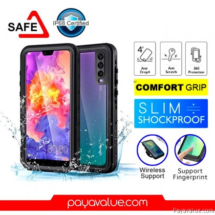 Huawei P20 l P20 Pro Waterproof Case Rugged Armor Smart Cover Travel Partner