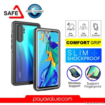 Huawei P30 P30 Pro Waterproof Case 360 Protection Cover High Protect Casing